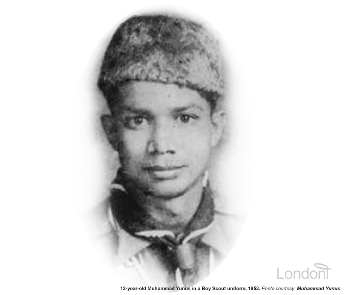 Muhammad Yunus - childhood, economically-driven brilliant